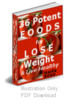 Thumbnail 36 Potent Foods to Lose Weight & Live Healthy PLR