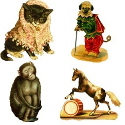 Product picture 75 Vintage Animal Grapics with PLR