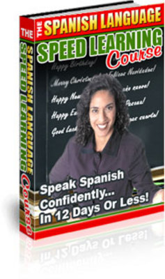 Product picture The Spanish Language Speed Learning Course PLR