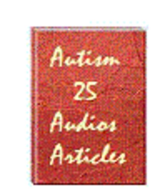 Product picture PLR 25 Autism Audio Articles