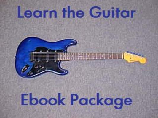 Product picture Guides to Learning the Guitar Package PLR