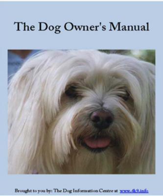 Product picture The Dog Owners Manual PLR