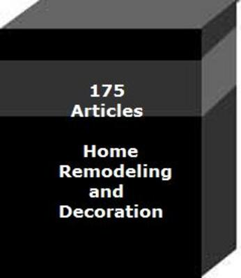 Product picture 175 Articles Home Remodeling and Decoration PLR