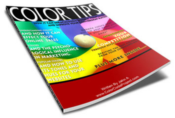 Product picture Color Tips Report PLR